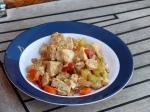 Fertige Gemüse-Fleisch Pfanne