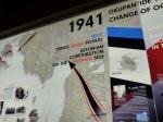 Eine weitaus größere Ausstellung beschäftigt sich mit der deutschen Rolle auf Saaremaa.