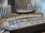Ausstellung über die Schifffahrt um Saremaa.