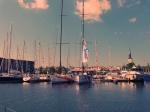 Hoher Besuch in der Old City Marina. Die Swan 60 des Nord Stream Races sind da!