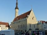 Das gotische Rathaus von Tallinn.