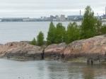 Am Horizont wartet schon Helsinki.