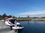 Der kleine Hafen in Kylmäpihlaja. Hat mich sehr an Drejö gamle havn erinnert.