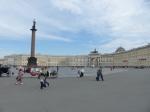 Der Palastplatz mit dem längsten Gebäude der Welt.