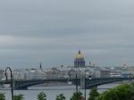 Blick auf die Skyline von St. Petersburg.
