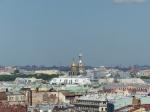 Über den Dächern von St. Petersburg.