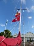 Flagge zeigen: Cuxhaven und Hamburg!