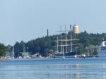 Ansteuerung von Mariehamn.