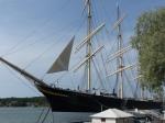 Sogar Segel werden noch fürs Foto gesetzt. Die Pommern lebt.