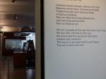 Wahre Worte im angeschlossenen Museum.