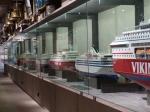Alle auf den Ålands registrierten Schiffe werden im Modell gezeigt.