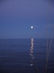 Nacht auf See.