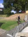 Vom Göta-Schleusenpersonal können sich die Kollegen am NOK auch optisch noch was abgucken.