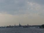 Ein letzter Blick  auf Stockholm.