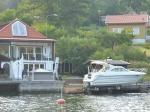 Privater Bootslift. Spart das Antifouling, aber ob sich das lohnt?