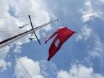 """Im Kanal wird Flagge gezeigt"""""""