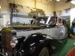 Der originale Rolls Royce des schwedischen Königs.