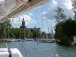 Der Hafen in Vadstena.