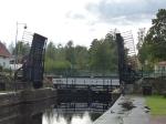 Forsvik. Die älteste Schleuse des Kanals.