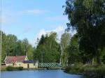 Immer noch wirken alle Anlagen des Kanals wie aus dem Museum.