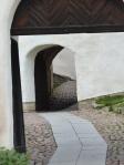 Der Schlosshof.