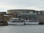 Ein letztes Zusammentreffen. Auch die Götakanal Schiffe Diana und Juno machen in Göteborg Winterschlaf...
