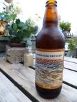 Das lokale Bier schmeckt!