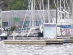 Mein erster Hafen in Norwegen.